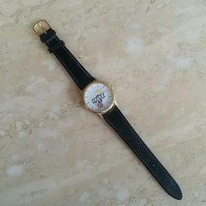 Accessories - WSU Basketball Leather Watch